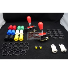 Kit Joysticks y Botones Industrias Lorenzo