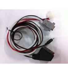 Cable Euroconector RCA a VGA con Molex
